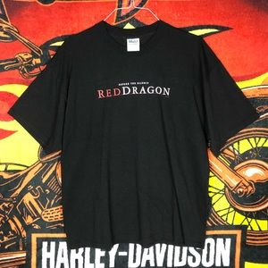 Vtg 00's Before The Silence Red Dragon Movie Shirt